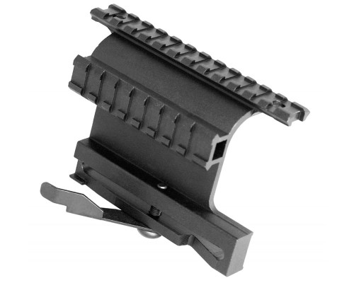 Aim Sports Dual Picatinny Side Rail Mount w/ Quick Release For AK-47's (MK004S)