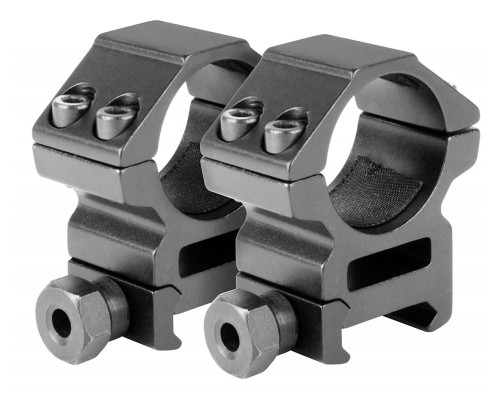 "Aim Sports Medium 30mm Weaver Rail Ring Scope Mount w/ 1"" Insert (QW30TM)"