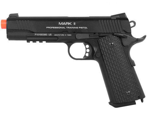 KWA Gas Blow Back Airsoft Pistol - M1911 MKII PTP (Black)