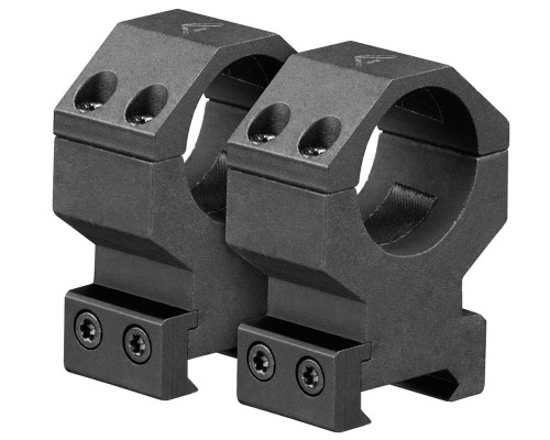 "Aim Sports 1"" High Weaver Rail Ring Scope Mounts (QWN1H)"