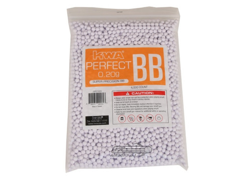 .20g Airsoft BB's - 4000 Count -KWA Perfect