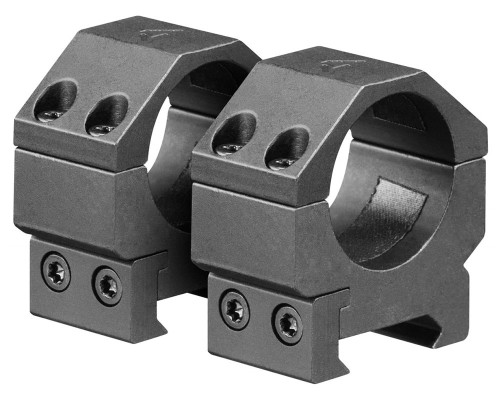 "Aim Sports 1"" Low Weaver Rail Ring Scope Mounts (QWN1L)"