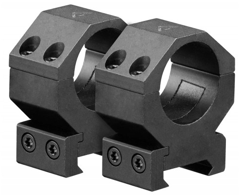 "Aim Sports 1"" Medium Weaver Rail Ring Scope Mounts (QWN1M)"