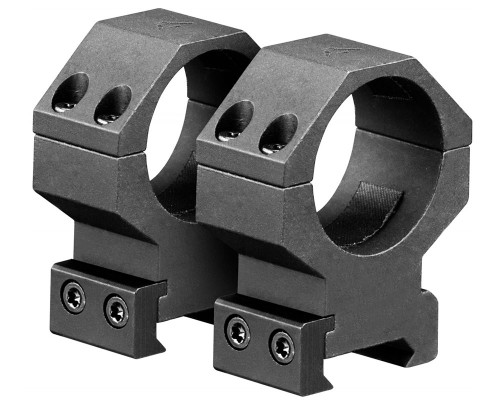 Aim Sports High 30mm Weaver Rail Ring Scope Mount (QWN3H)