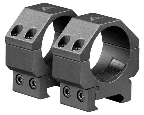 Aim Sports Low 30mm Weaver Rail Ring Scope Mount (QWN3L)