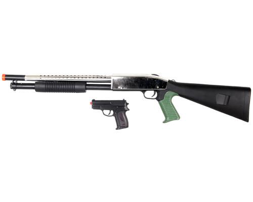 Spring Airsoft Shotgun & Pistol - P799