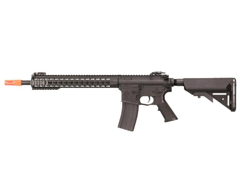 Knight's Armament Electric Airsoft Rifle - Nylon Fiber SR-16E3 Carbine Mod 2 - Black (JP-94)