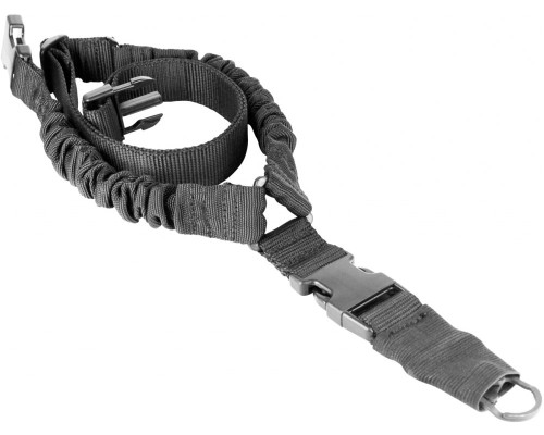 Aim Sports Single Pt. Rifle Bungee Sling - Black (AOPSO1B)