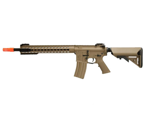 Knight's Armament Electric Airsoft Rifle - Nylon Fiber SR-16E3 Carbine Mod 2 - Tan (JP-95)