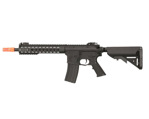 Knight's Armament Electric Airsoft Rifle - Nylon Fiber SR-1E3 CQB Mod 2 - Black (JP-98)