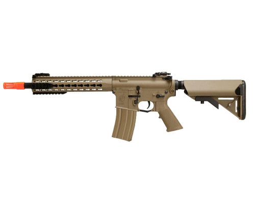 Knight's Armament Electric Airsoft Rifle - Nylon Fiber SR-1E3 CQB Mod 2 - Tan (JP-99)