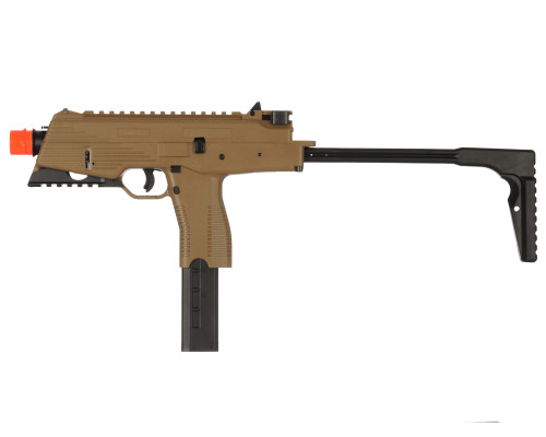 KWA Gas Airsoft Sub Machine Gun - KMP9R (Dark Earth)