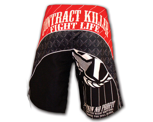 Contract Killer MMA Grappling Shorts - Circuit