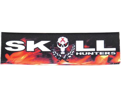 Hater Gun Graffiti Barrel Wrap - Skull Hunters Flames