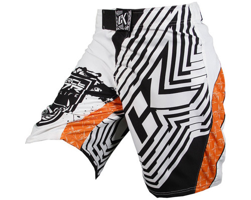 Contract Killer MMA Grappling Shorts - Orange Crush