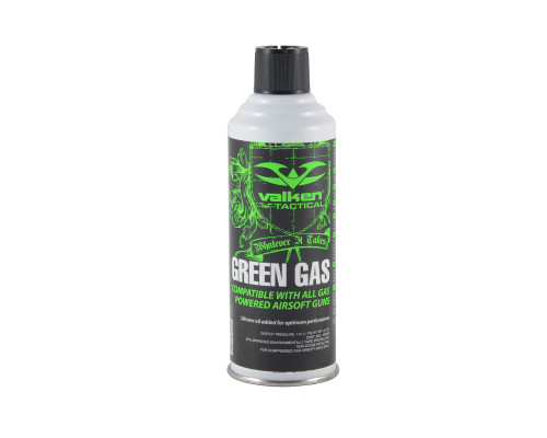 Valken Airsoft Green Gas Can - 8 oz