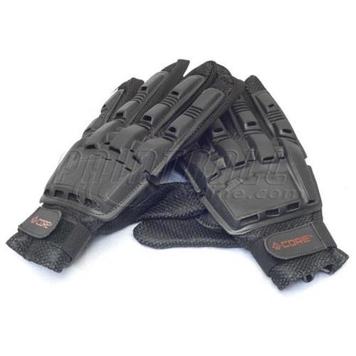 CORE Hard Top Full Finger Armor Paintball Gloves