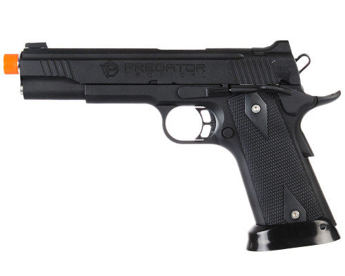 King Arms Gas Blowback Airsoft Pistol - Predator Tactical 1911