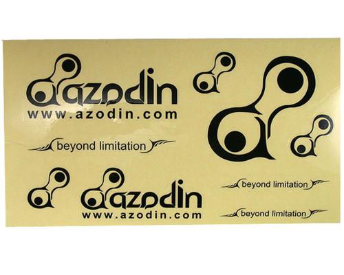 Paintball Sticker Sheet - Azodin (Black)