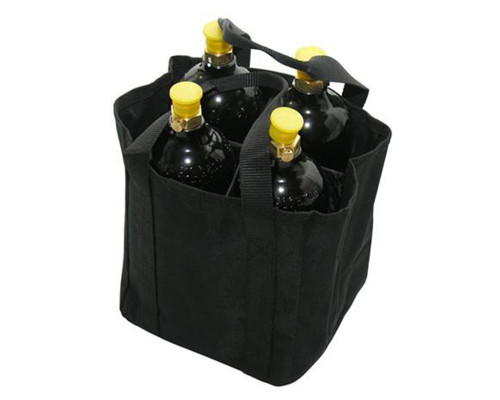 Gen X Global Co2 Tank Carrying Bag For Up To 4 Tanks (Black)