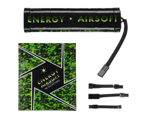 Energy Airsoft Battery - Ni-MH 9.6v 3300mAh