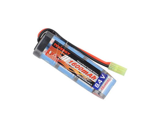Tenergy Airsoft Battery - Ni-MH 8.4v 1600mAH (Flat)