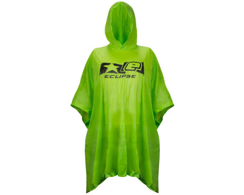 Planet Eclipse Rain Poncho -Lime Green