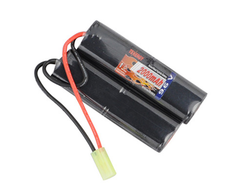 Tenergy Airsoft Battery - NiMH 9.6v 2000mAh (Nunchuck)