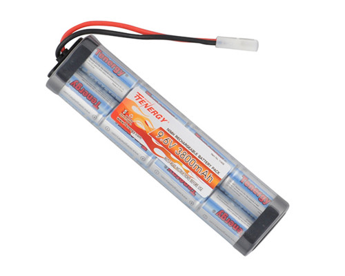 Tenergy Airsoft Battery - Ni-MH 9.6v 3800mAh (Flat)