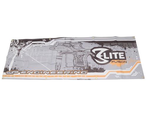 """Dangerous Power Banner - Fusion Elite (72""""x24"""")"""