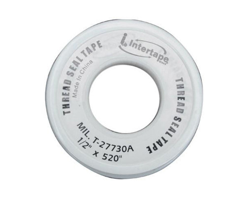 "Thread Seal Tape (White) - 1/2"" x 520"""