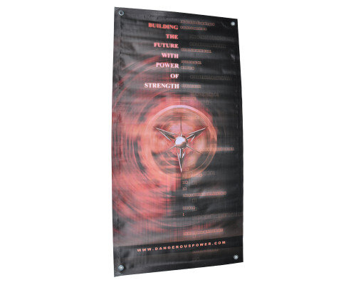 "Dangerous Power Banner - Strength (18""x36"")"