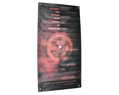 "Dangerous Power Banner - Strength (18""x36"")"