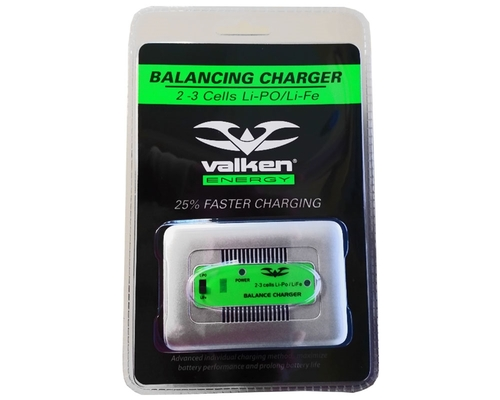 Valken Airsoft LiPo/LiFe Quick 2-3 Cell Balancing Battery Charger