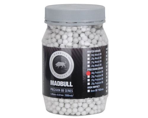Madbull Airsoft BB's - .30 (2,000 Rounds)