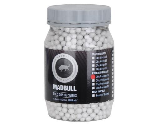 Madbull Airsoft BB's - .30 (2,000 Rounds)