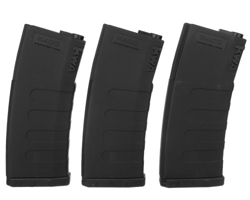 KWA Airsoft Magazine - M4/M16 K400 High Cap (3 Pack)