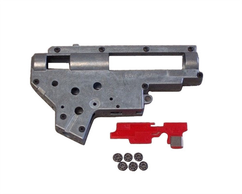 King Arms Airsoft Part - V2 8MM Gear Box For SG