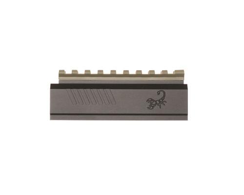 LAPCO Tippmann TPX Pistol Aluminum Front Block - Black/Flat Dark Earth