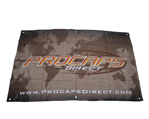 "Procaps 58"" x 36 1/2"" Paintball Banner"