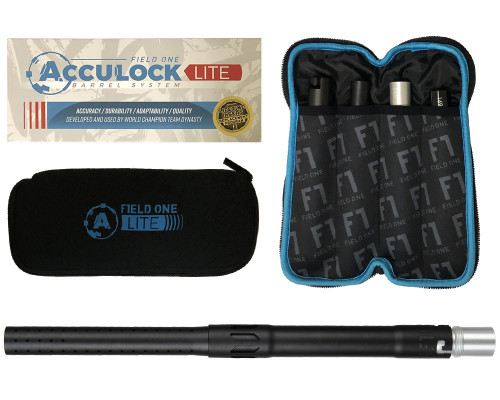 Field One AutoCocker Threaded Acculock Lite Barrel Kit - Dust Black