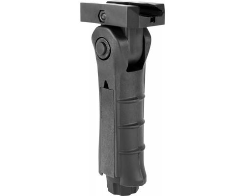 Aim Sports Rail Mounted Foldable Grip (MT007FH-T) - Tan