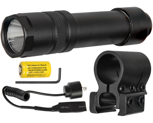 Aim Sports Pressure Switch 200 Lumens Flashlight (FM200S)