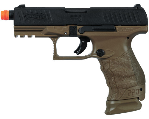 Walther Gas Blow Back Airsoft Hand Gun - Tactical PPQ