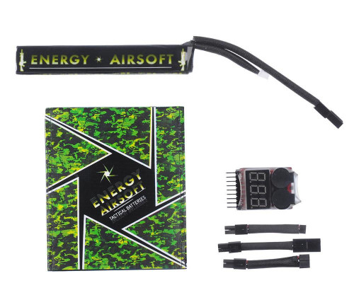 Energy Airsoft Battery - LiPo 11.1v 1400mAh