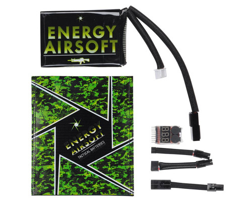 Energy Airsoft Battery - LiPo 11.1v 1500mAh