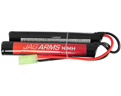 JAG Arms Airsoft Battery - 9.6v 1600 mAh NiMH (Nunchuck Style)