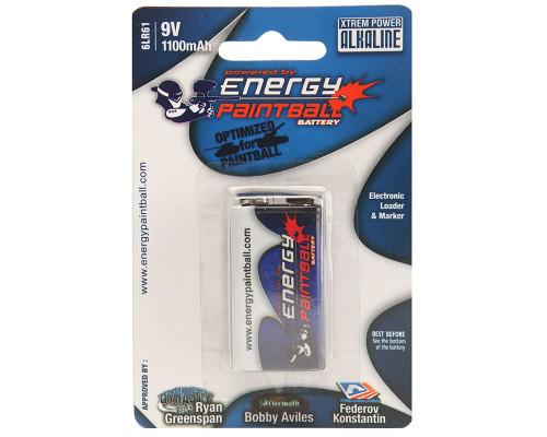 Energy Paintball 9 volt Battery - Single