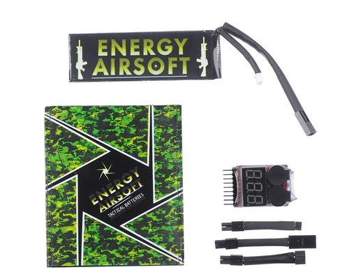 Energy Airsoft Battery - LiPo 7.4v 3450mAh