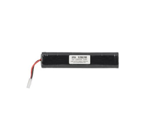 ANS Xtreme NiMH Battery - 12V, 3300mAh - Large Style